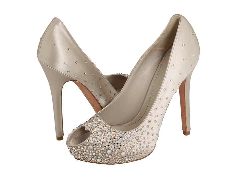 Alexander Mcqueen Heart Peep Toe Wedding Shoes
